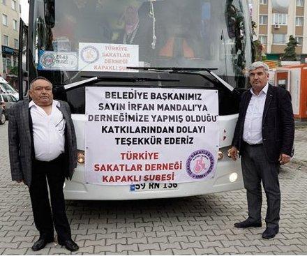 Türkiye Sakatlar Derneği Kapaklı Şubesi ...