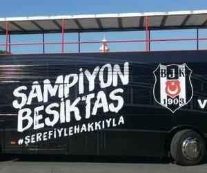 Beşiktaş`ın Şampiyonluk Otobüsü Hazır