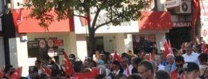 Tekirdağ`da Darbe Girişimi Düzenlenen Yürüyüşle Protesto Edildi