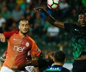 Galatasaray, Akhisar Belediyespor`u Deplasmanda ...