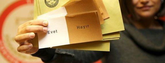 Oy Pusulaları Basın Mensuplarına Gösterildi