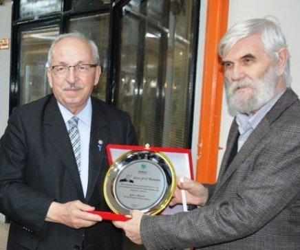 Gazeteci Şerif Baysalan`a 50. Yıl Sürprizi