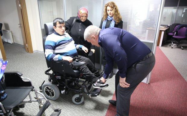 Kapaklı Belediyesi Engellilerin Hayatını Kolaylaştırmaya devam Ediyor