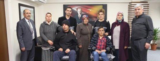 Kapaklı Belediyesi Akülü Sandalye Yardımları Sürüyor