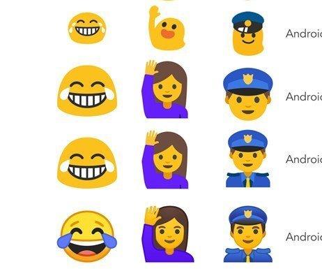 Google, Emoji`leri Yeniden Tasarladı