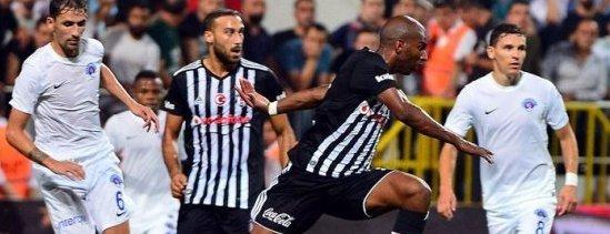 Kasımpaşa İle Beşiktaş 2-2 Berabere Kaldı