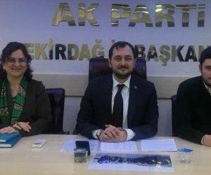 Tekirdağ AK Parti`de İl Yürütme Kurulunda ...