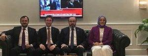 Başkan Cüneyt Yüksel Ankara Ziyaretinden 26 Uzman Doktorla Döndü