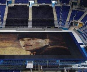 60 Bin Bardakla Atatürk Portresi