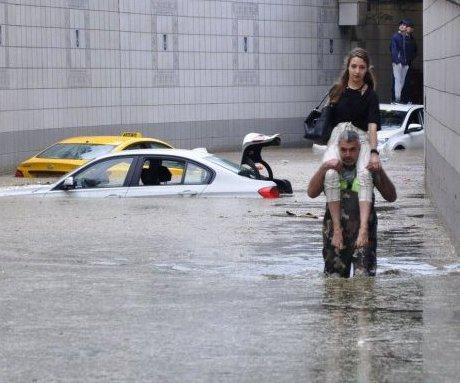 Başkentte Sel Felaketi