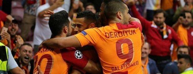 Galatasaray`dan Şampiyonlar Ligi`ne Kusursuz Başlangıç