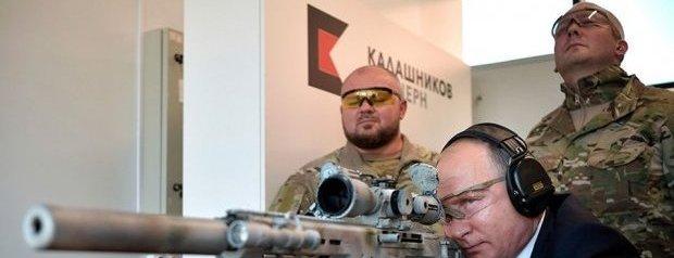 Putin 600 Metreden Tüm Hedefleri Vurdu