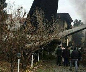 İran`da Kargo Uçağı Düştü