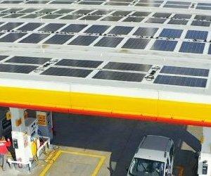 Türkiye'nin İlk Güneş Enerjili Benzin ...