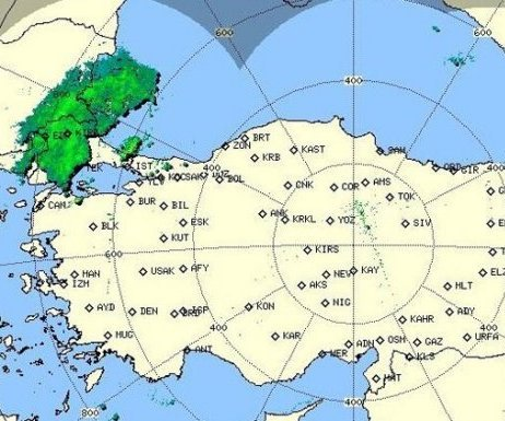 Meteorolojiden Sağanak Yağış Uyarısı ...