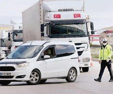 İstanbul`dan Çıkışlara Çok Sıkı Kontrol