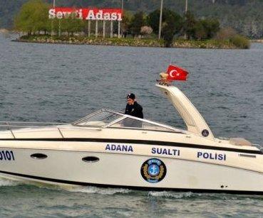Polis, Adana Halkını Havadan, Karadan ve Sudan ...