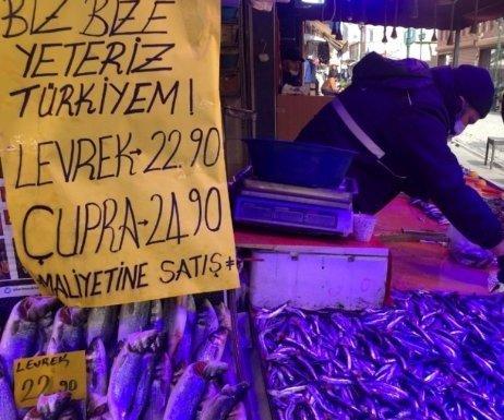 Maliyetine Balık Satışına Yoğun İlgi